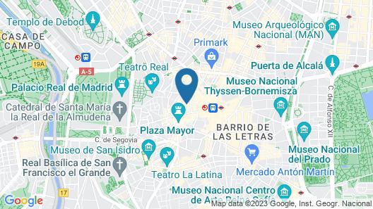 Petit Palace Arenal Map