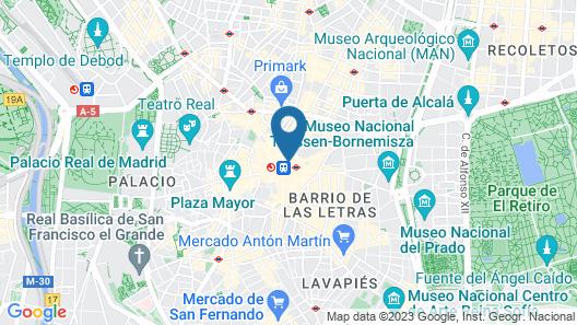 Behap Madrid Puerta del Sol Map