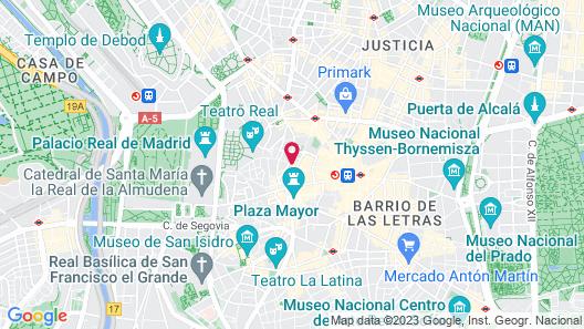 Hotel Francisco I Map
