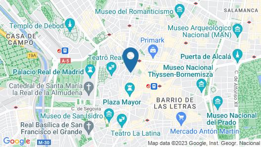 Be Mate Callao Map