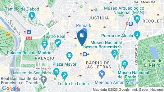 Hotel Liabeny Map