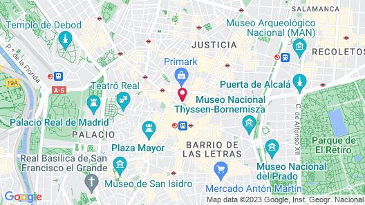 Anaco Hotel Map