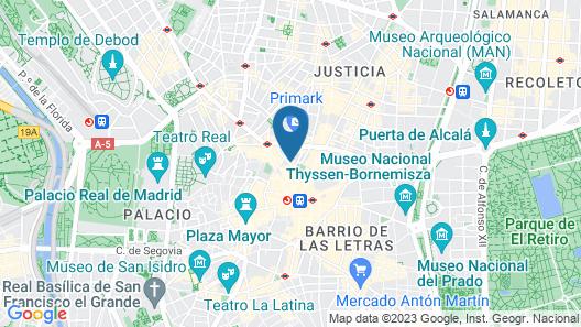 Aspasios Abada Apartments Map