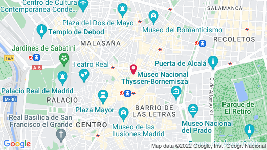 New Point Madrid Map