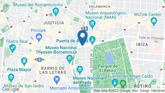 Boutike Cibeles Map