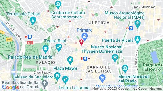 Hotel Regente Map