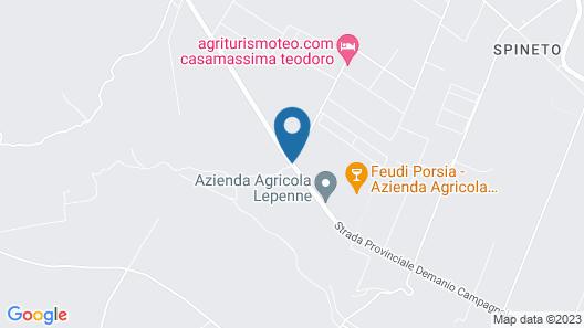 Agriturismoteo Map