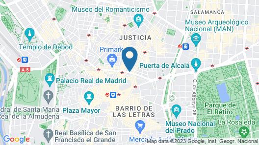 H10 Villa de la Reina Boutique Hotel Map