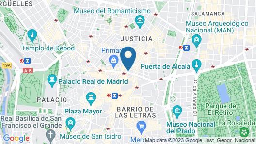 Círculo Gran Vía, Autograph Collection (Adults Only) Map