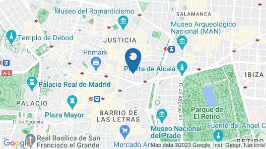 Hotel Infantas by MIJ Map