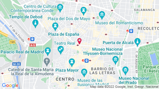 SmartRental Collection Gran Via Centric Map