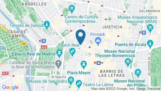 Hotel Santo Domingo Map