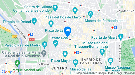 SmartRental Collection Gran Via Capital Map