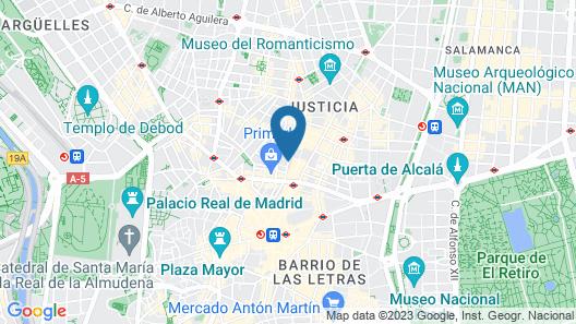 7 Islas Hotel Map