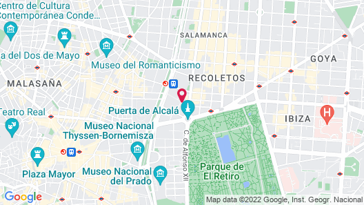 AC Hotel Recoletos by Marriott Map