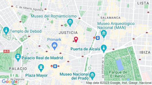 Libertad I Map
