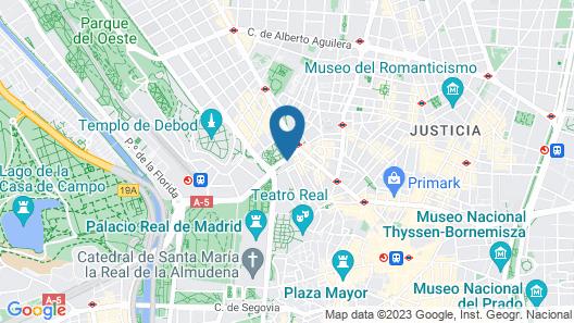 VP Plaza España Design Map