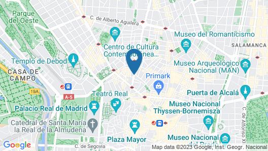 Hotel Sterling Map