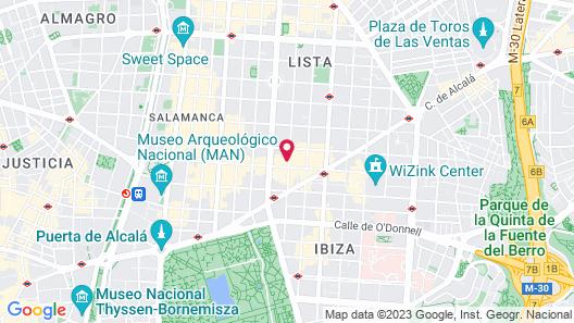 Alterhome Apartamento Francisco de Goya Map