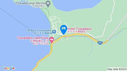 Hotel Towadaso Map