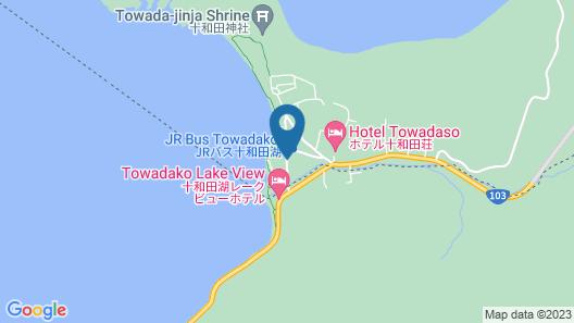 Towadako Lakeside Hotel Map