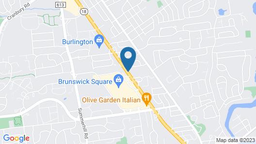 SureStay Hotel by Best Western East Brunswick Map