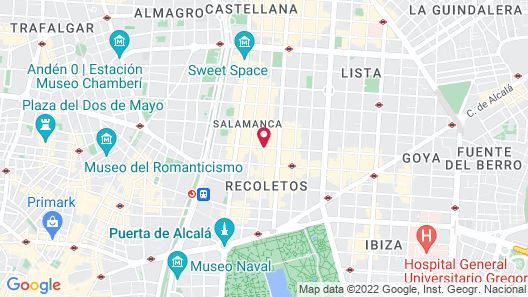 TOTEM Madrid-Small Luxury Hotels of the World Map
