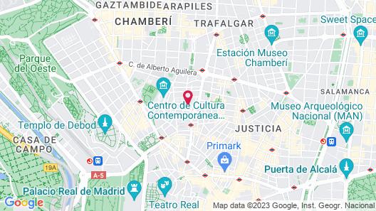 Hostal Jemasaca-Palma61 Map