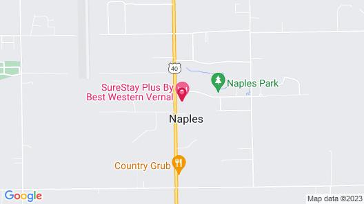 SureStay Plus Hotel by Best Western Vernal Map
