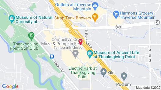 SpringHill Suites Lehi at Thanksgiving Point Map