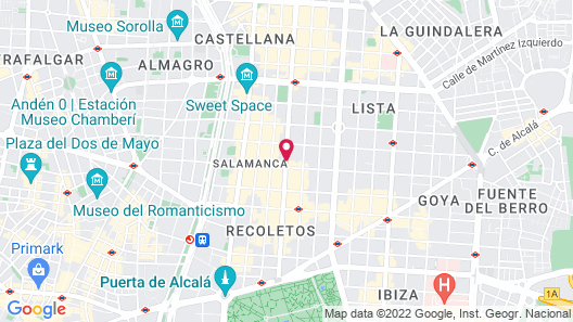 Bless Hotel Madrid, a member of The Leading Hotels of the World Map