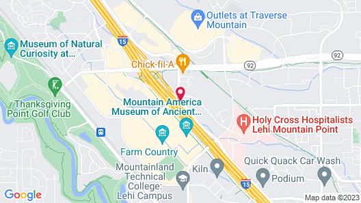 Hilton Garden Inn Lehi Map
