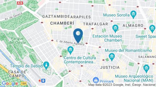 Leonardo Hotel Madrid City Center Map