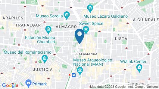 Hotel Villa Magna Map