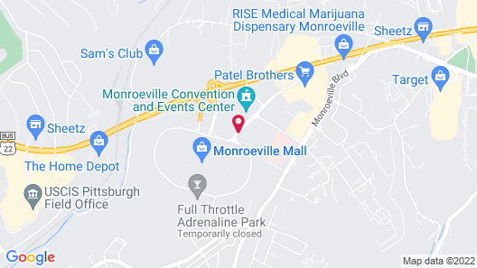 DoubleTree by Hilton Pittsburgh - Monroeville Convention Ctr Map