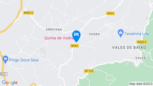 Quinta de Vodra Map