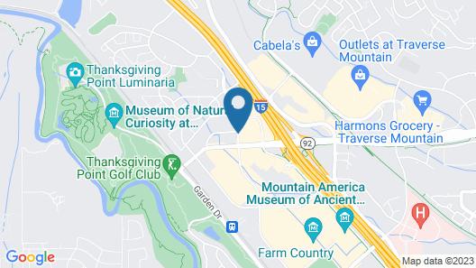 Hampton Inn Lehi-Thanksgiving Point Map