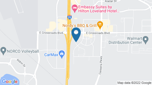 Microtel Inn & Suites by Wyndham Loveland Map