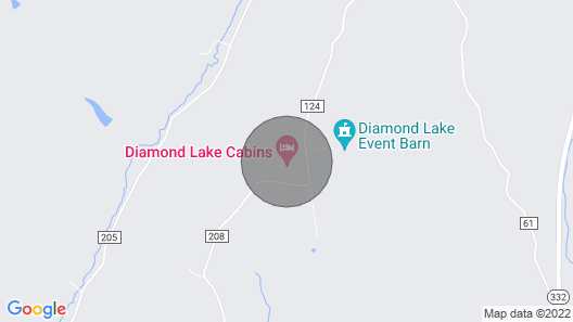 Diamond Lake Cabins Map