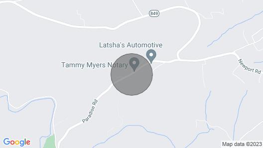 Treetop - Paradise Cabin 2 Map