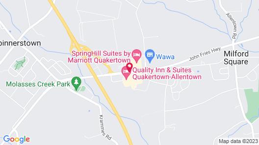 Hampton Inn Quakertown Map