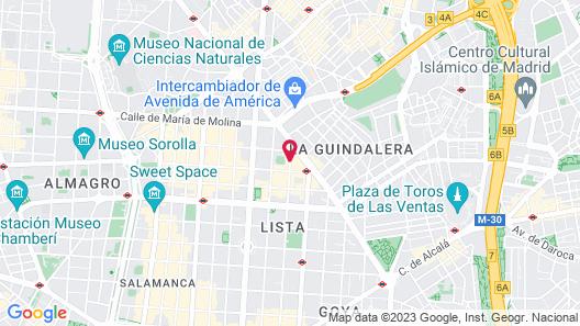 VP El Madroño Map
