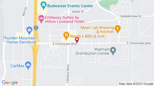 SpringHill Suites by Marriott Loveland Fort Collins/Windsor Map