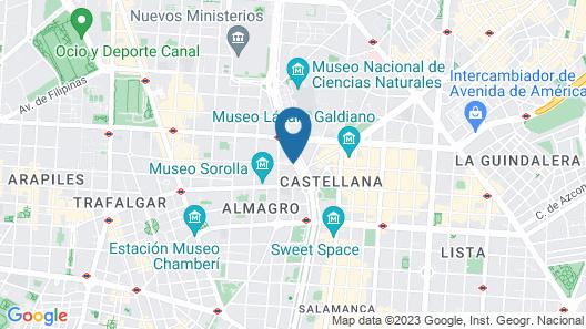 InterContinental Madrid Map