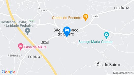 Quinta de São Lourenço Map