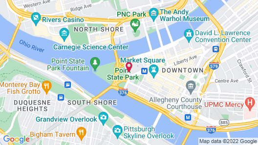 Wyndham Grand Pittsburgh Downtown Map