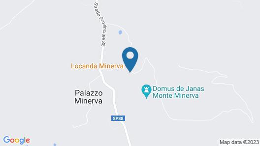 Locanda Minerva Map