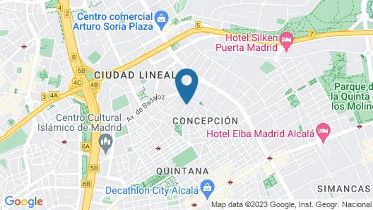 ARTIEM Madrid Map