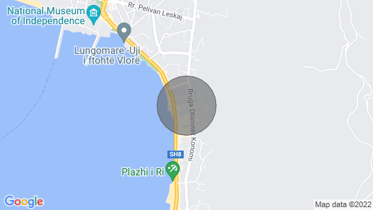 Marina apartment on the seafront of Vlora  Map