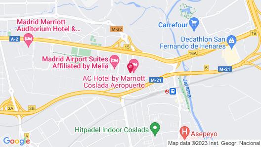 AC Hotel Coslada Aeropuerto by Marriott Map